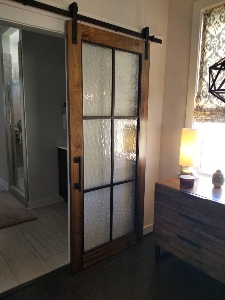 Beautiful Glass Barn Doors in 2020 Glass barn doors
