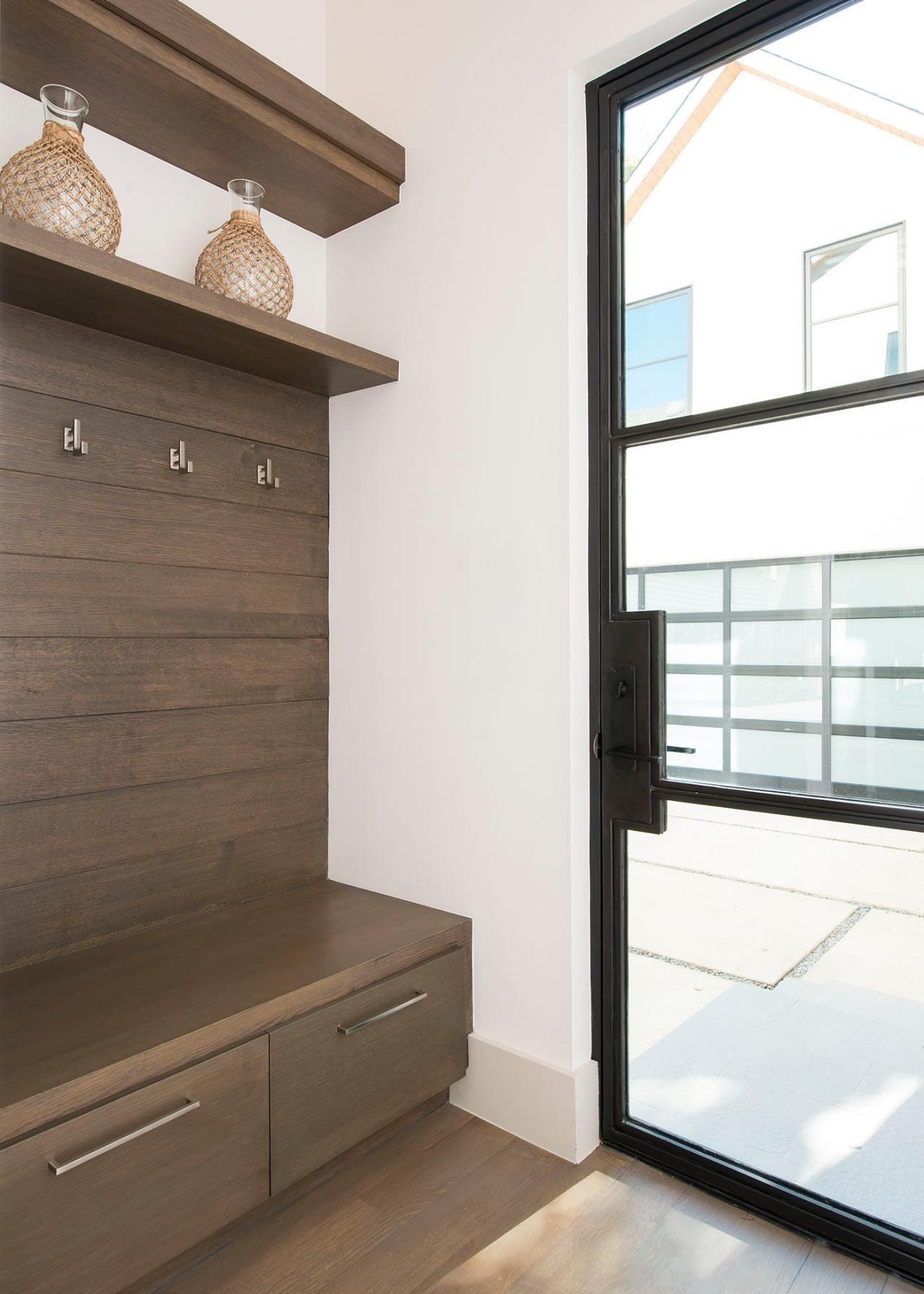 Mudroom Photos Hgtv Modern Mud Room With Oak Bench. home decor ...