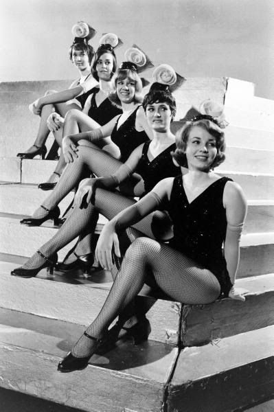 Vintage Rockettes in tap shoes