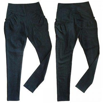 Trousers jeans H024 PAKAMERA.PL