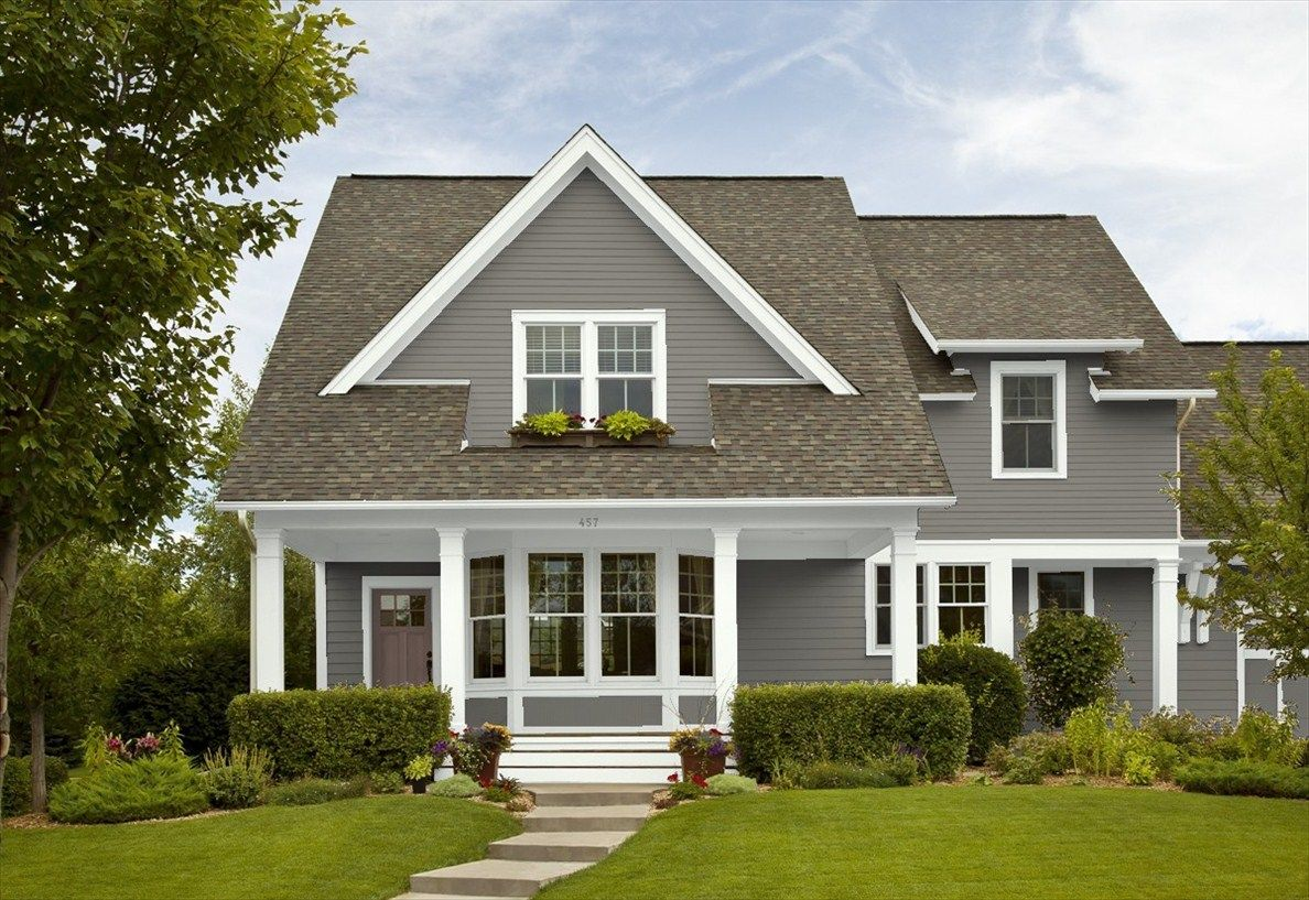 Benjamin Moore Chelsea Gray Colors House Paint Color