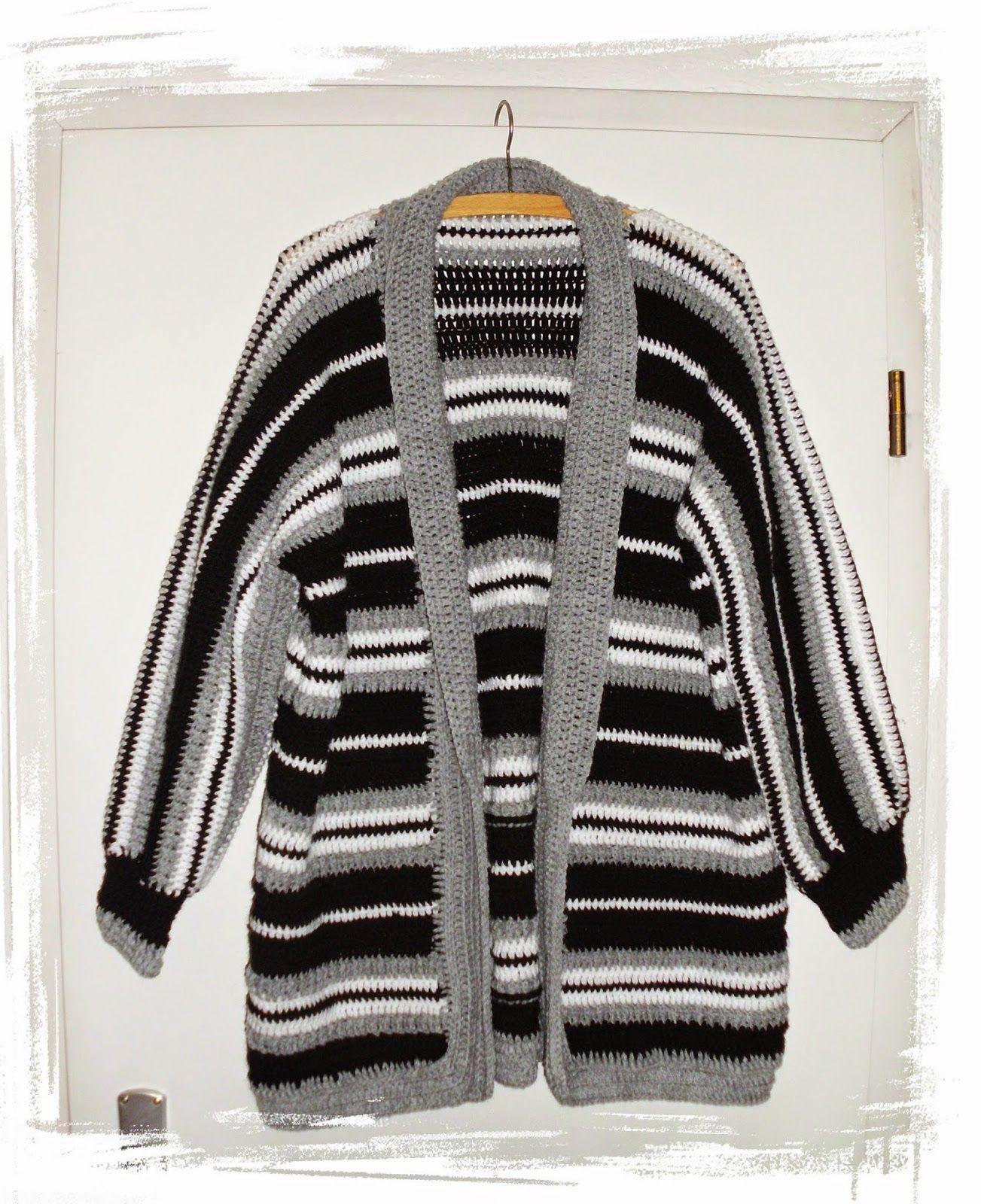 Mantel-Jacke | Mäntel, Häkelanleitung und Jacken