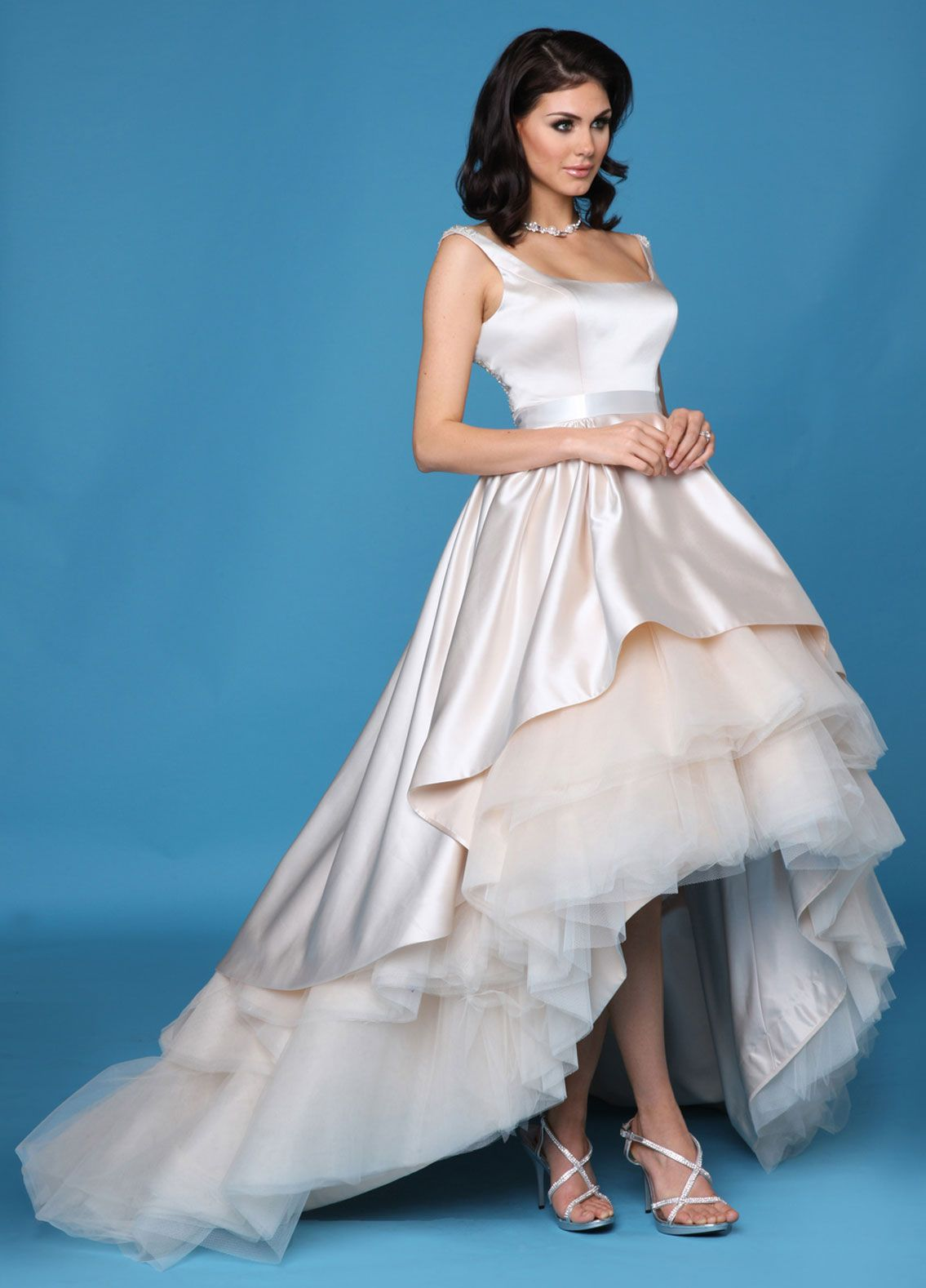Impression Bridal Style 10255 . It looks ugly here but so pretty in ...