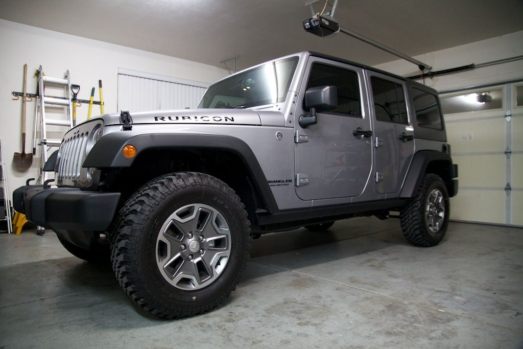 My 2014 Jeep Wrangler Unlimited Rubicon Just After Bringing It