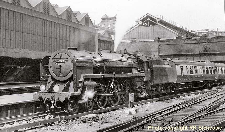 70030, William Wordsworth, Britannia Class Locomotive was