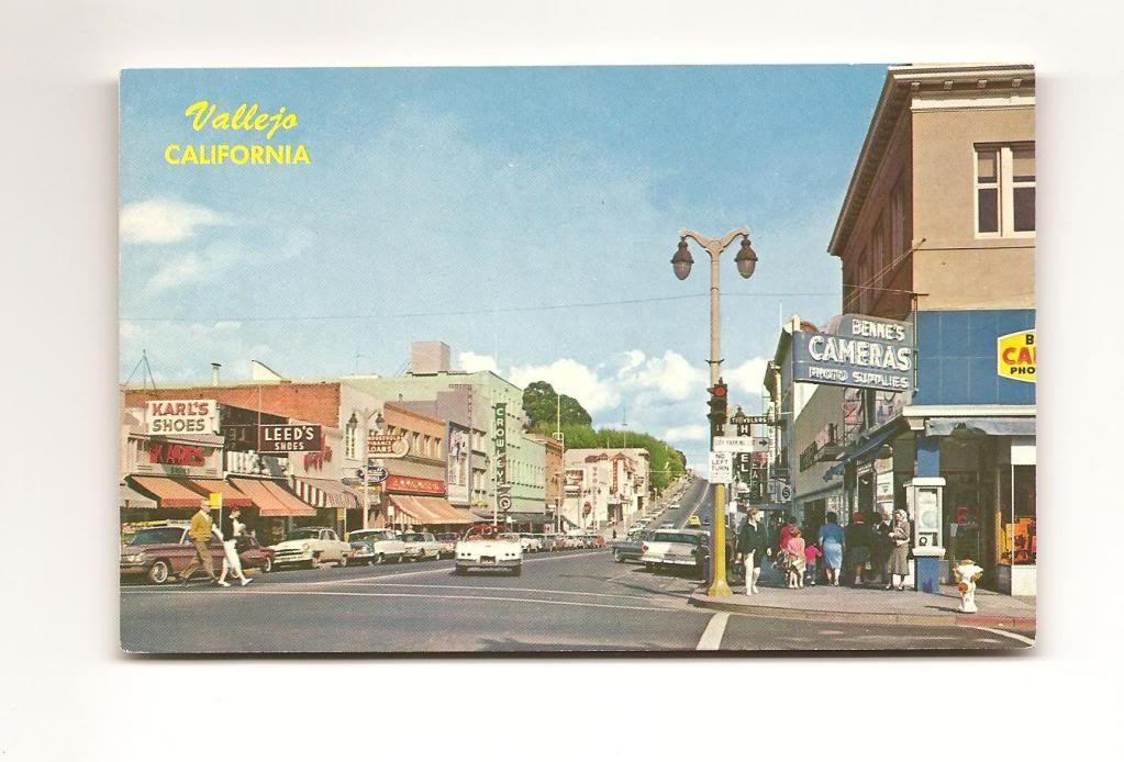 Downtown Vallejo Georgia Street 1960 S Vallejo Vallejo