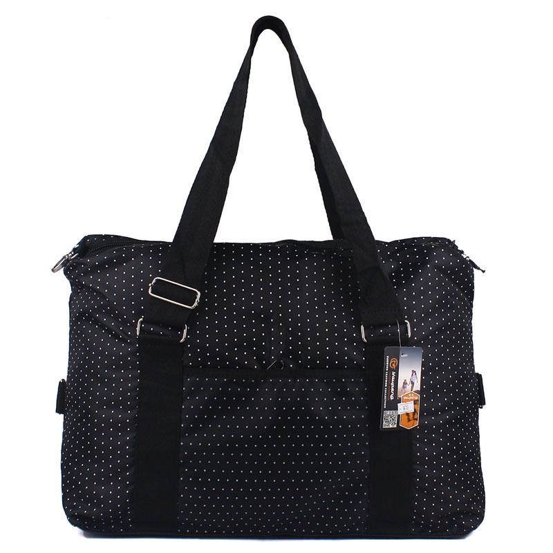 Large Capacity Women Luggage Travel Bags Short Hand-held Dot ...