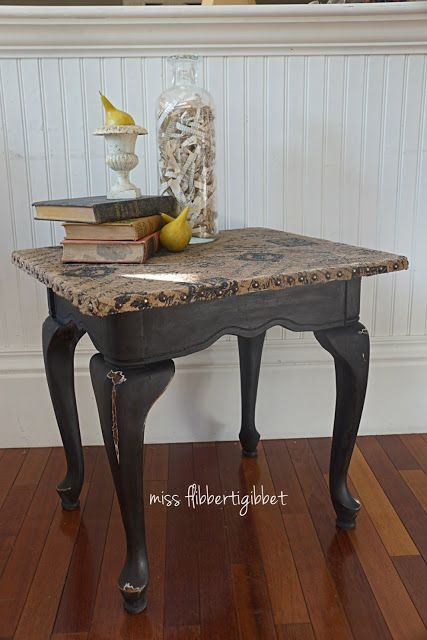 Burlap Topped Table     used polyurethane to seal the burlap for a nice hard. Burlap Topped Table     used polyurethane to seal the burlap for a