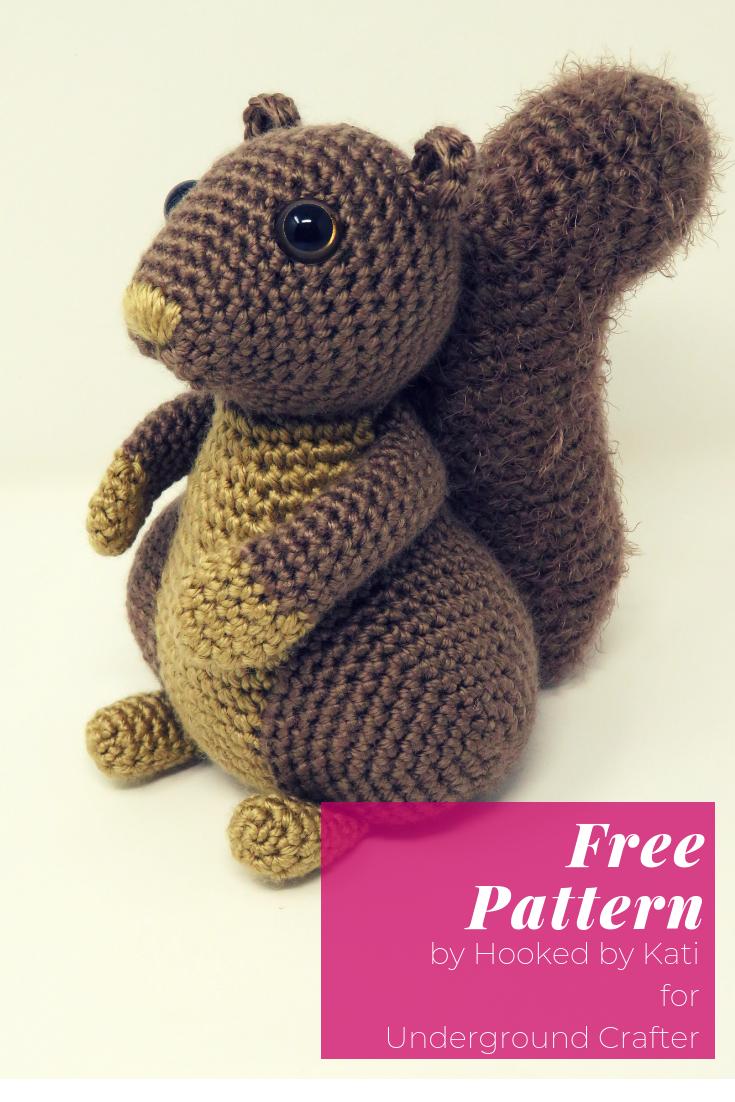 Free Squirrel Amigurumi Crochet Pattern