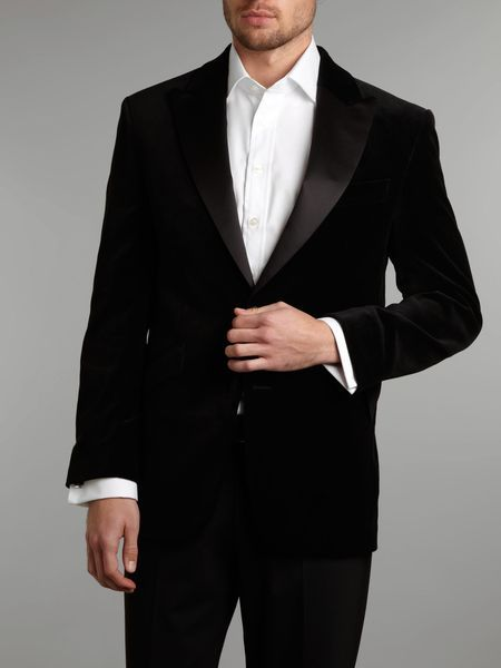 87c8456d0191 Men's Green Satin Collar Velvet Tuxedo Jacket | Style | Tuxedo ...