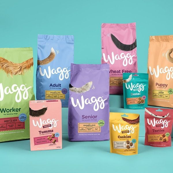 Robot Food Brings Wagg Pet Food Back To Life With Rebrand Robot