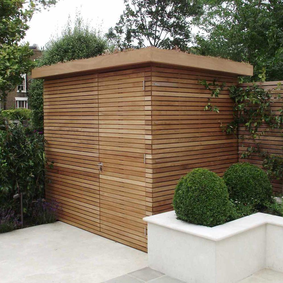 Contemporary Bespoke Shed Contemporary Sheds Backyard Sheds Garden Buildings Modern outdoor storage sheds
