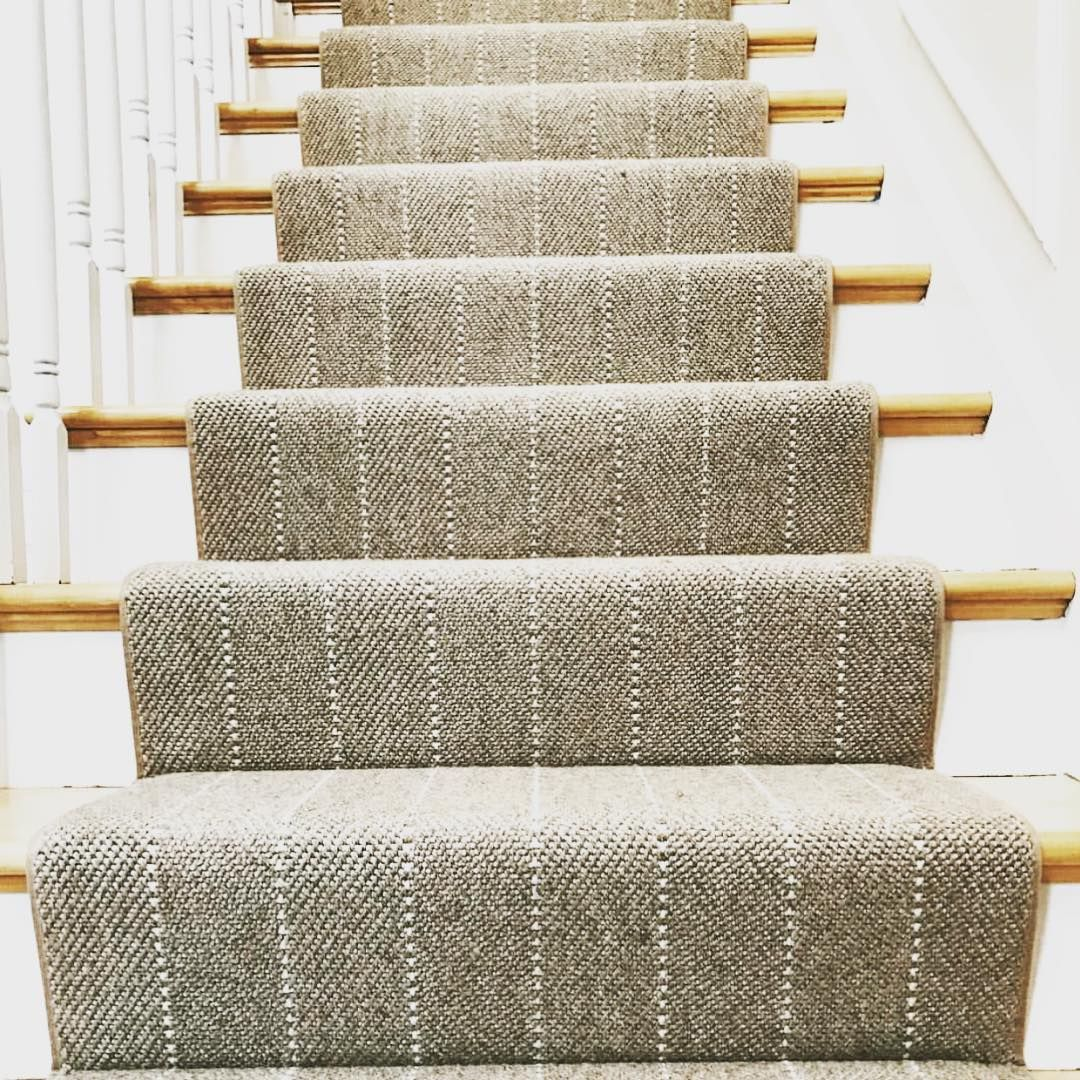 A Simple Runner Could Make Your Stairs Look Amazing •Prestige   Best Carpet For Stairs 2019   Stair Runners   Stair Railing   Berber Carpet   Wall Carpet   Carpet Tiles