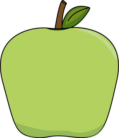big green apple clip art image printables tutorials pinterest rh pinterest com green apple clipart images green apple clipart images