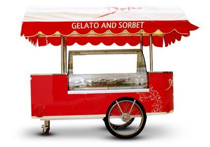 Gelato Cart Hire Brisbane Delizia Com Au Bike Ice
