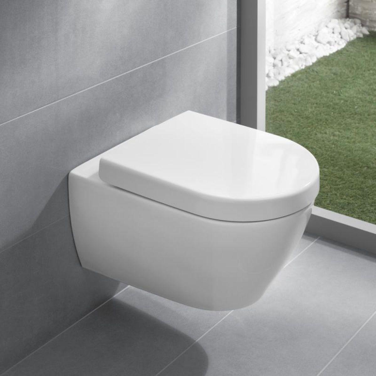 Villeroy And Boch Subway 2 0 Wall Hung Wc Floating Toilet Bathroom Inspiration Modern Bathroom Toilets
