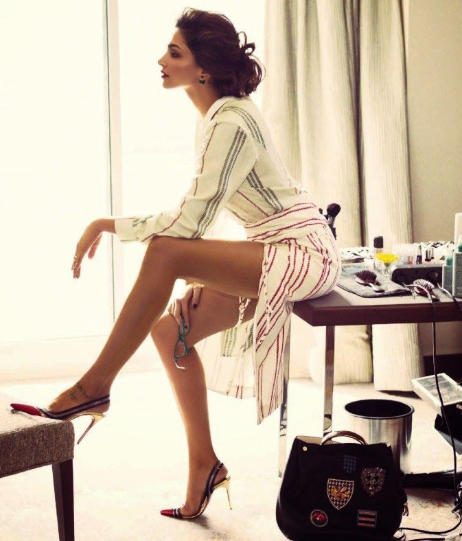Deepika Padukone Hot Photoshoot for Vogue Magazine June 2014 | Unseen Images