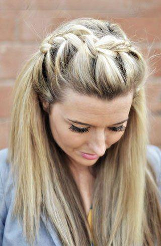 Hairstyles For Teenage Girls Straight Hairstyles Medium Length Hair Styles Easy Hairstyles
