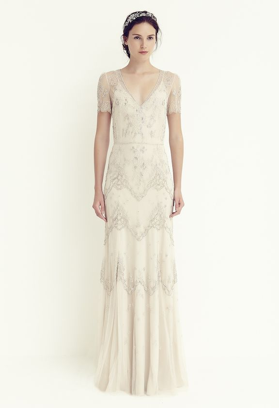 BHLDN Leila Size 6 Wedding Dress | Jenny packham, Wedding dress and ...