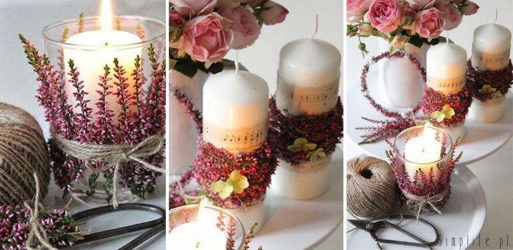 Wesele We Wrzesniu Wrzos W Roli Glownej Simplife Pl Wedding Hall Decorations Pillar Candles Wedding Time