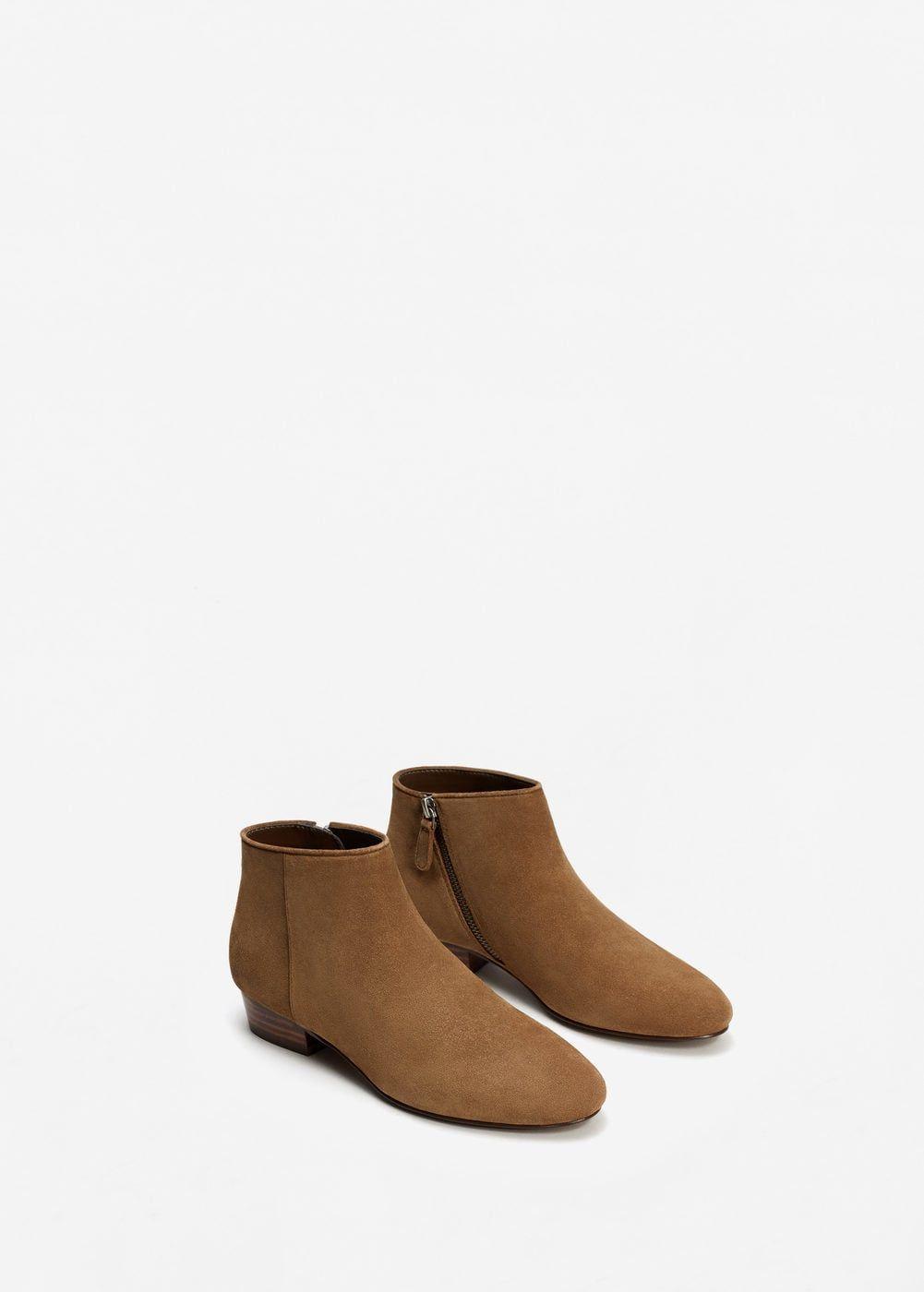 MANGO Chaussures métallisées cuir 2018 Plus Récent À Vendre U0886nk