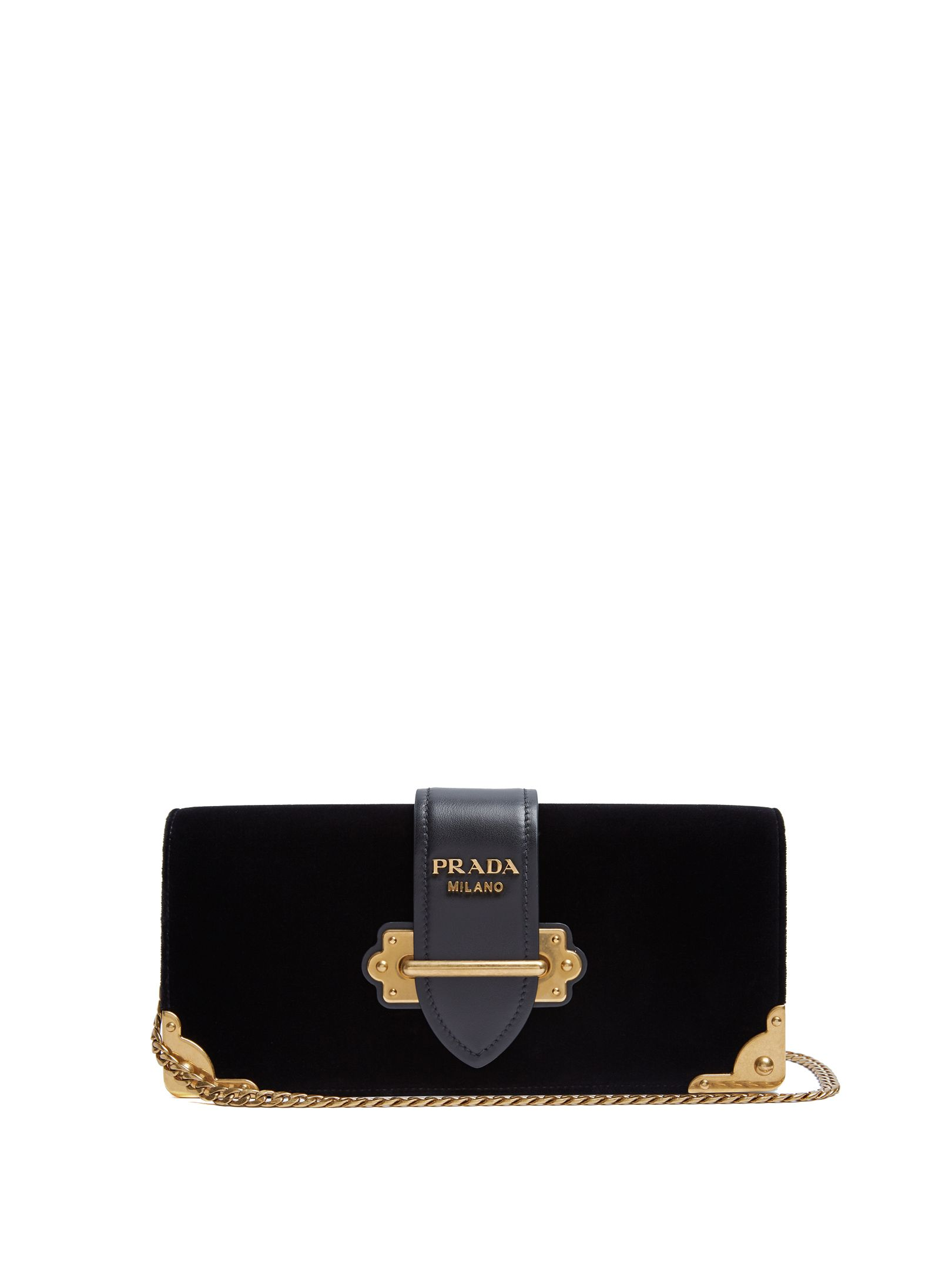 1f1fc46adc54 Click here to buy Prada Cahier velvet clutch at MATCHESFASHION.COM ...