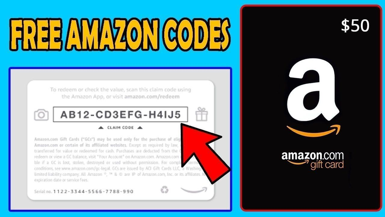 Free 100 amazon gift card code in 2020 amazon gift card