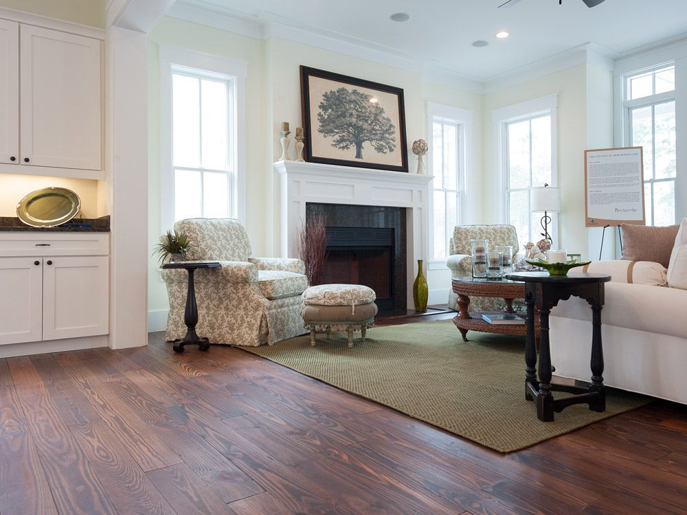 Flooring Gallery Reclaimed Wood And Hardwood Flooring Traditional Family Rooms Pine Floors Living Dining Room