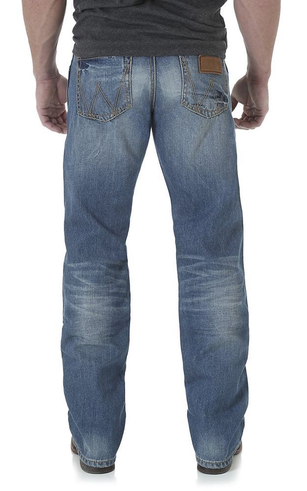 c282e8060da WRANGLER Retro WLT20VN Jeans RELAXED BOOT CUT NWT Western Mens 30 x 38  #WRANGLER #Relaxed