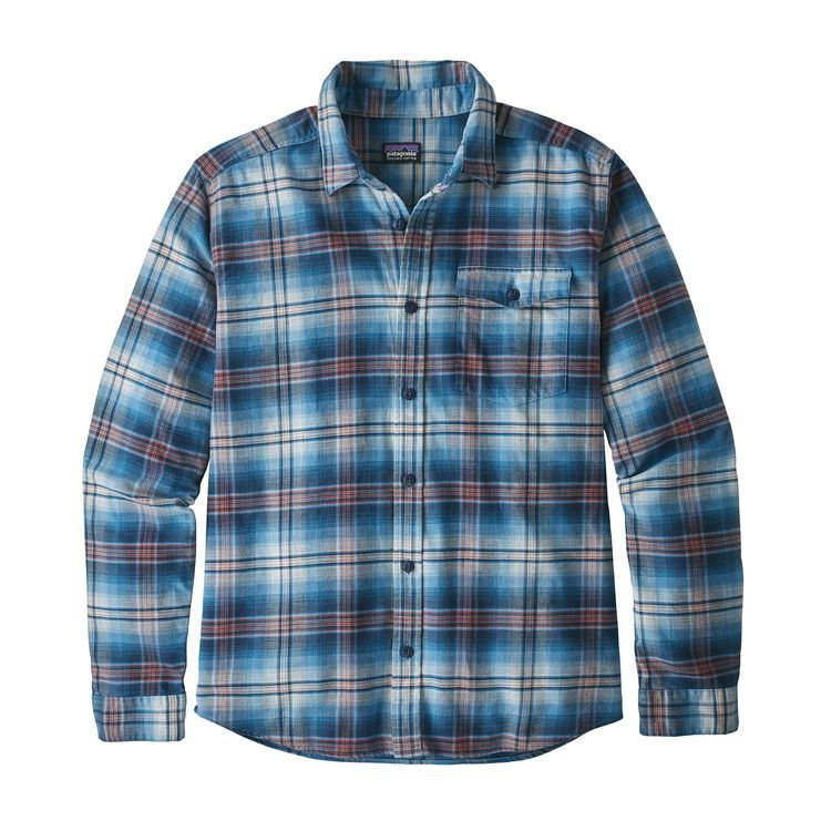c21ae6cfff3 M s Long-Sleeved Lightweight Fjord Flannel Shirt