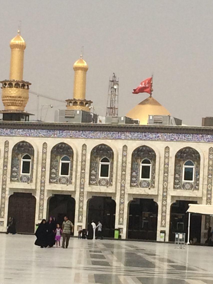 مرقد الامام الحسين بن علي بن ابي طالب كربلاء العراق Taj Mahal Landmarks Ibn Ali
