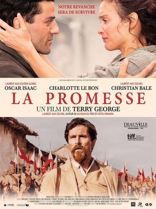 Cinema La Promesse De Terry George Avec Oscar Isaac Charlotte Le Bon Christian Bale Par Lisa Giraud Taylor Film Films Complets Film Streaming