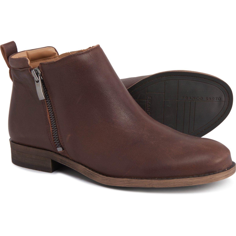 Franco Sarto Keegan Double-Zip Leather