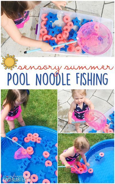 10 Ways to Play With Pool Noodles {Sensory Summer} - Mrs. Plemons' Kindergarten