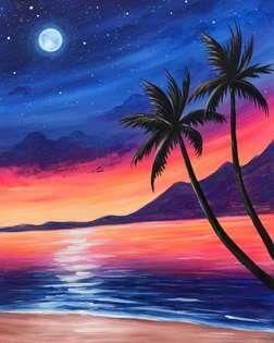 30 Easy Landscape Painting Ideas for Beginners, Easy Canvas Painting Ideas for Kids, Easy Tree Paintings, Easy Landscape Paintings, Simple Acrylic Painting Ideas on Canvas