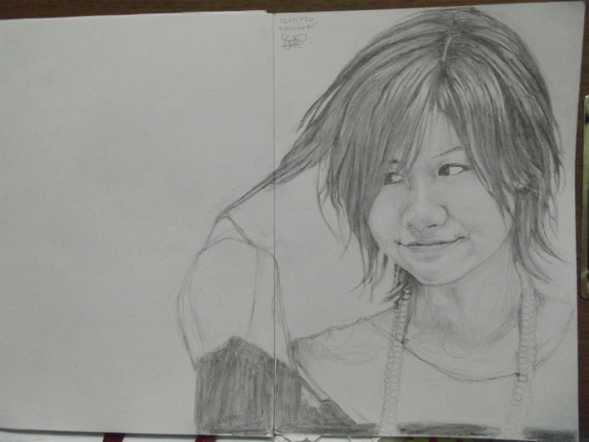 """Ai Otsuka"" pencil on A4 paper"
