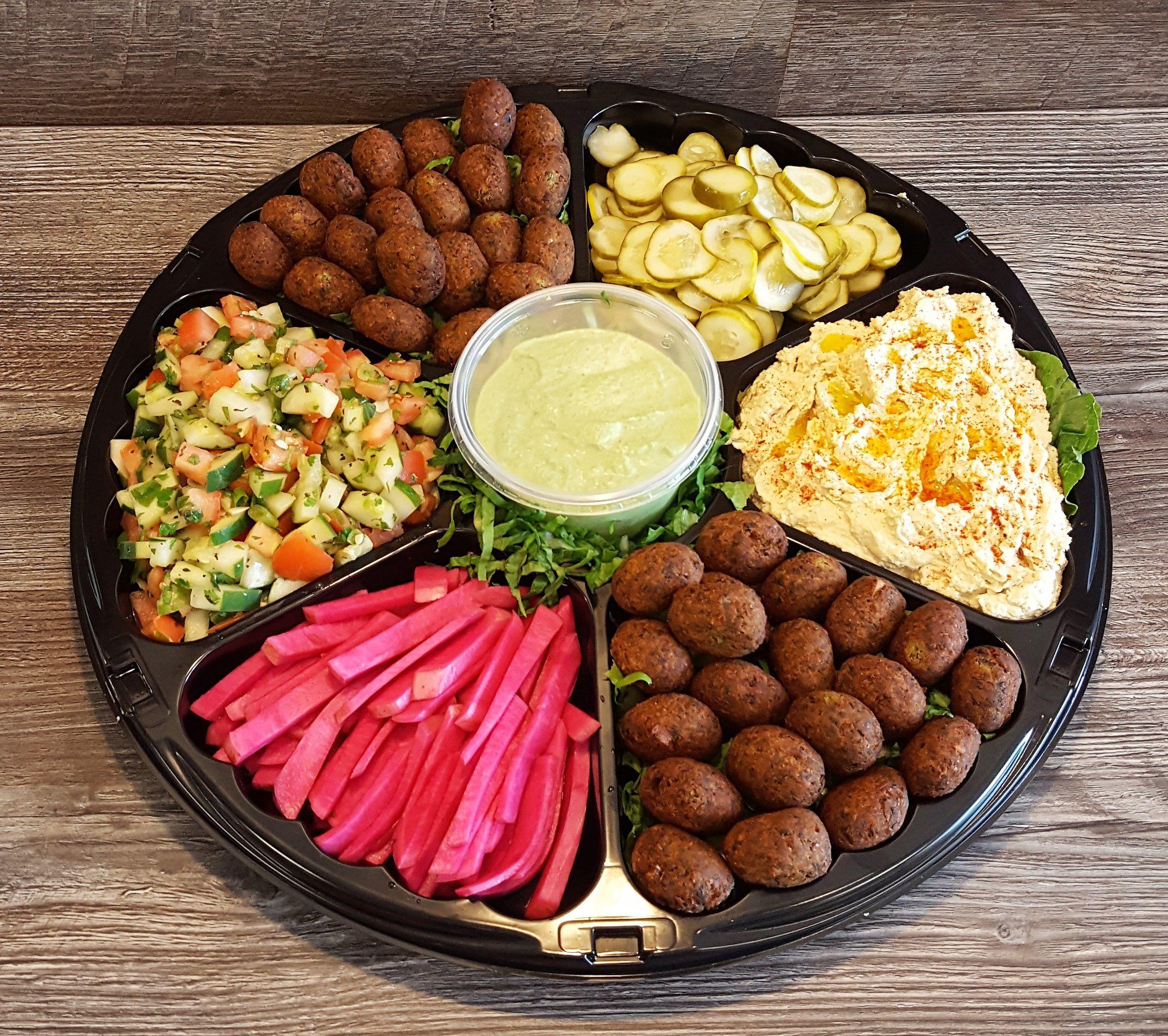 Falafel platter near me falafel platters food