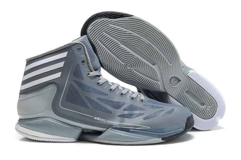 Adidas Adizero Crazy Light 2 Gray - Derrick Rose Shoes  a1bd54b927f0