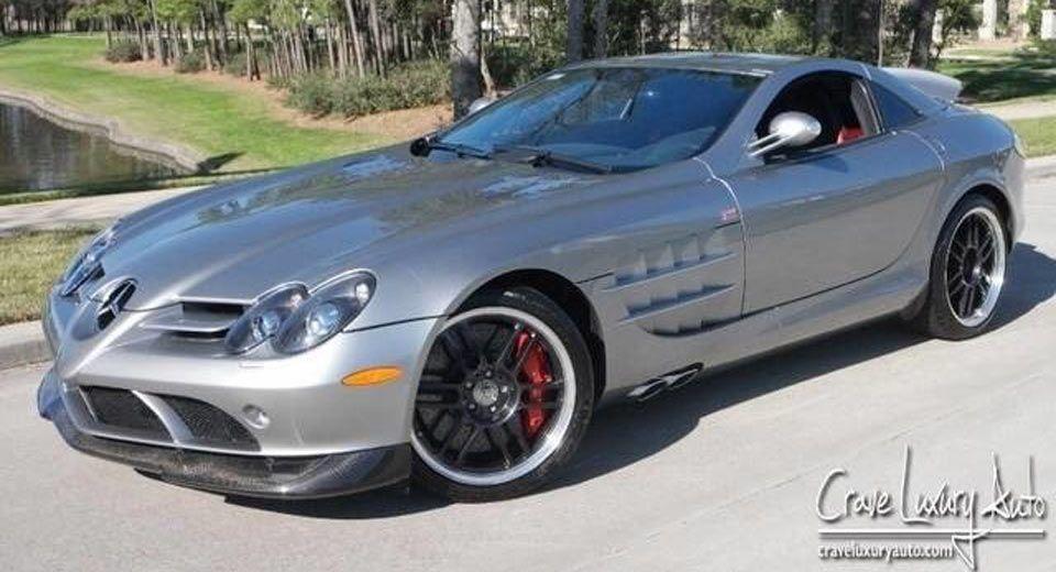 Michael Jordan\'s Mercedes-Benz SLR 722 Hits Auto Trader | Cars ...