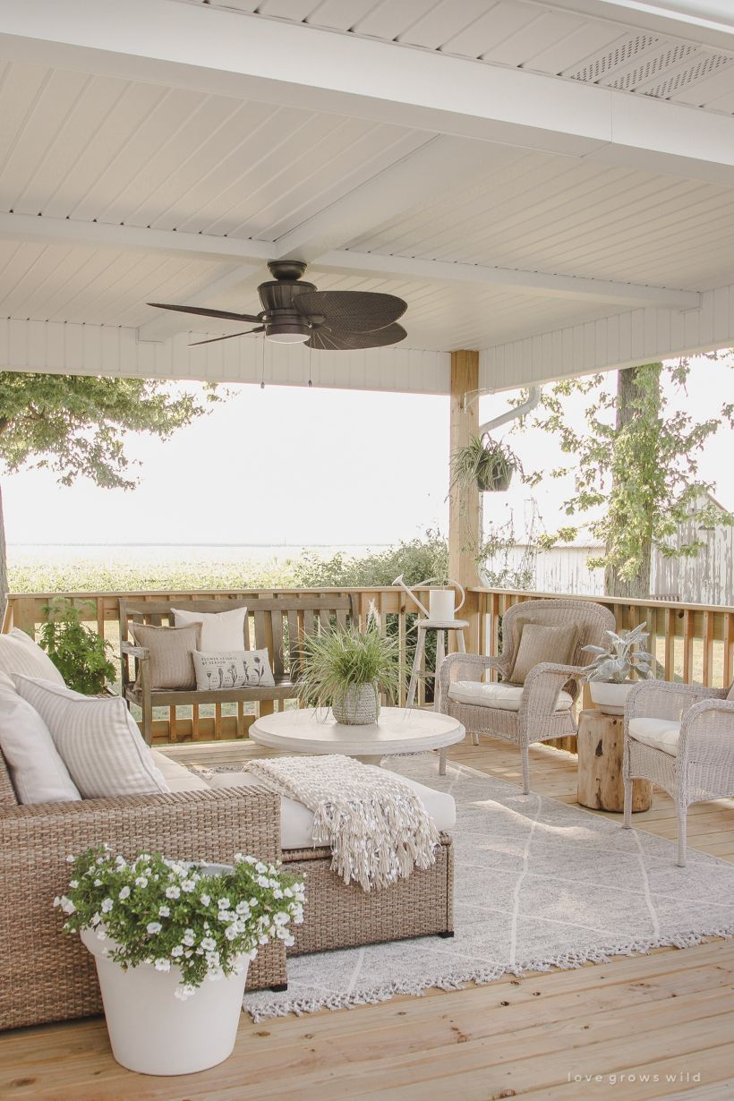 Deck Reveal - Our Completed Outdoor Living Space - Love Grows Wild