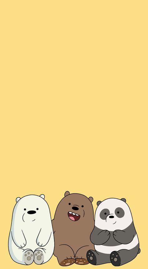 We Bare Bears Pastel Lockscreens Pls Like Or Reblog If You Save Ilustrasi Kartun