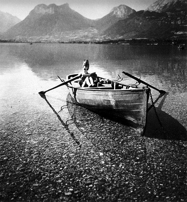 Florette. Llad D'Annecy, 1943 by Jacques Henri Lartigue