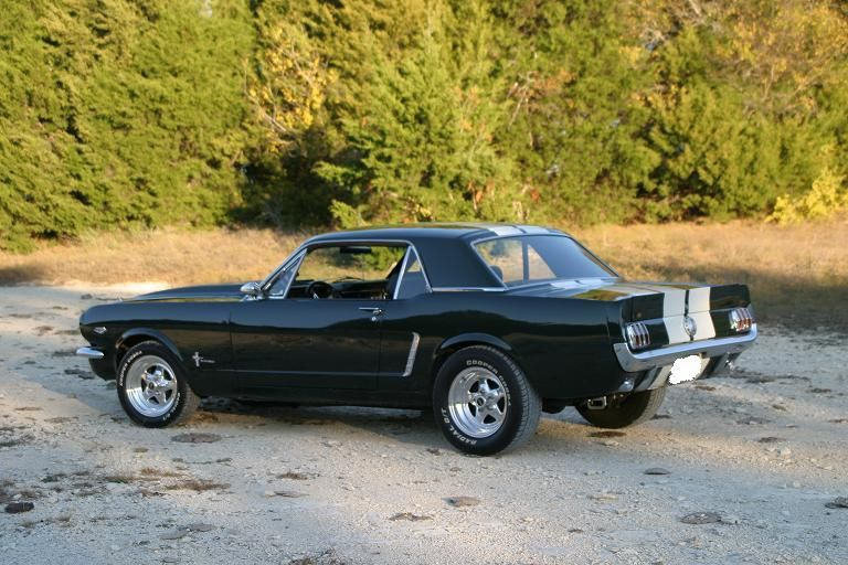 Pics Of Black 65 66 Coupes Rear Lip
