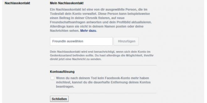 Facebook - das passiert nach Eurem Tod