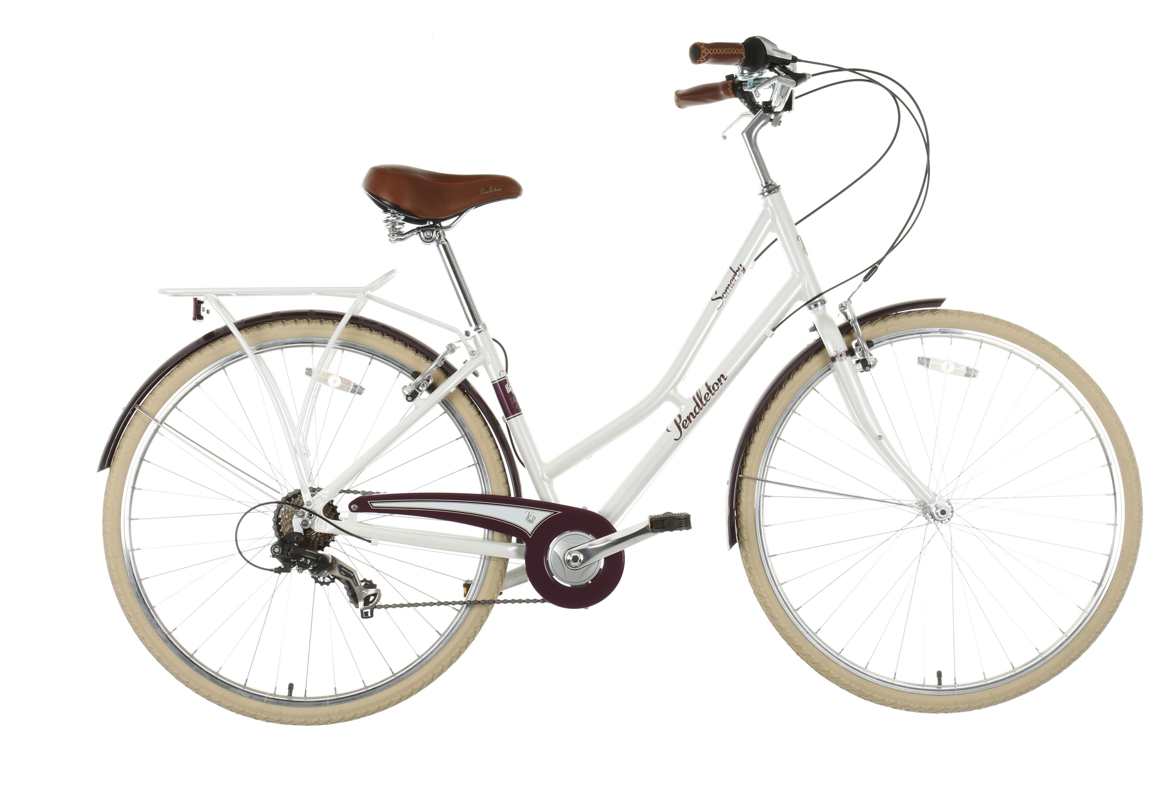 Pendleton Somerby Limited Edition Hybrid Bike White 19inch Is A