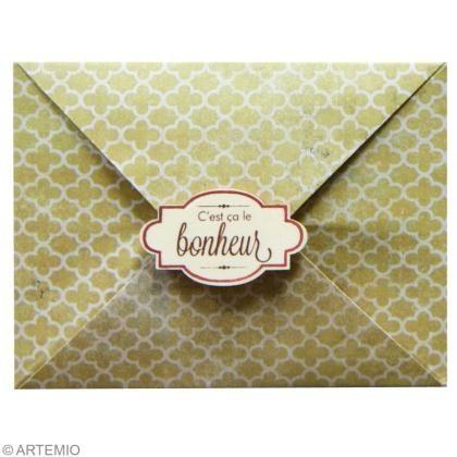 Enveloppe origami facile DIY – Idées conseils et tuto Saint Valentin