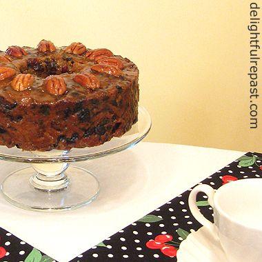 Original english fruit cake recipe