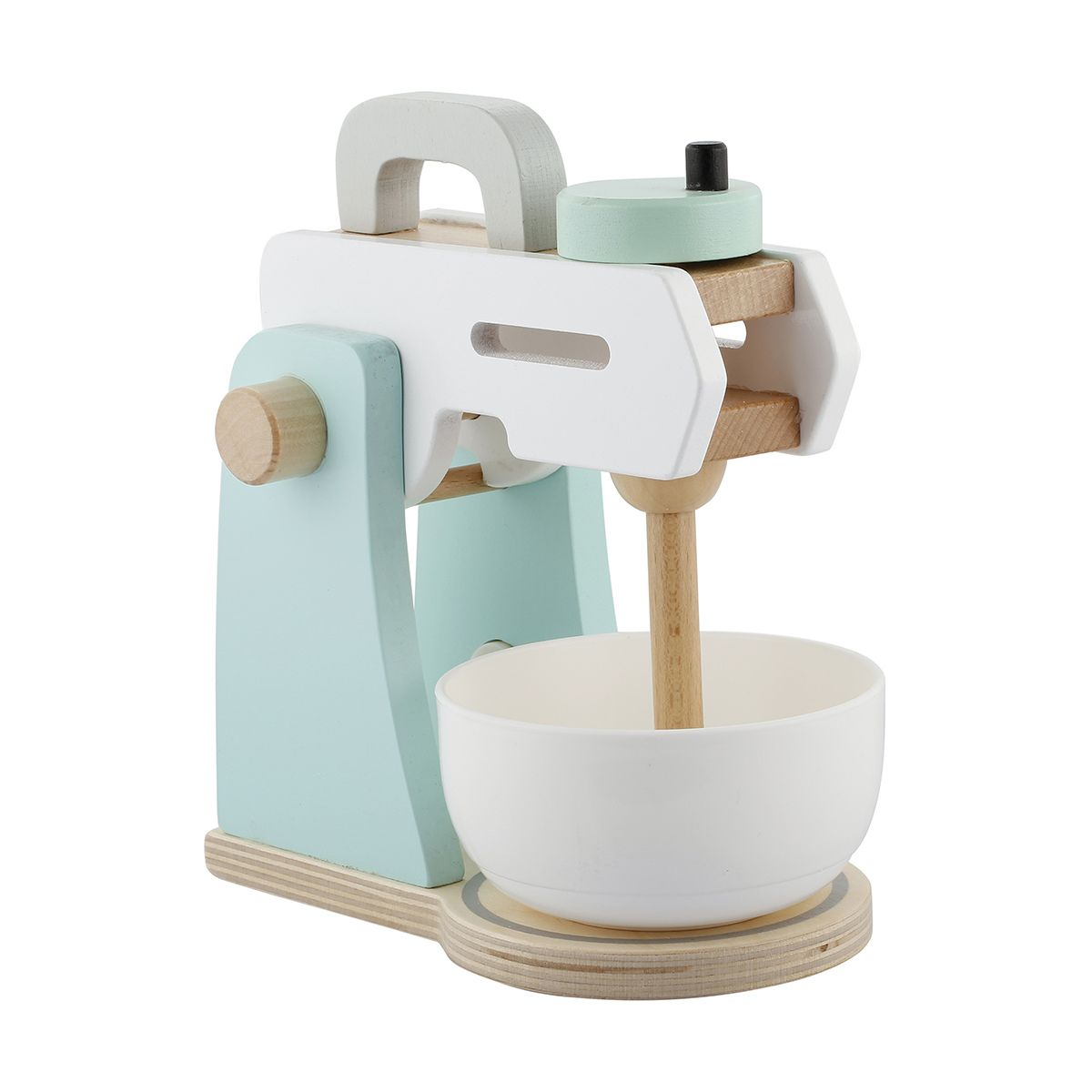 Wooden Toy Kitchen Mixer | Wooden toy kitchen, Toy kitchen and ...