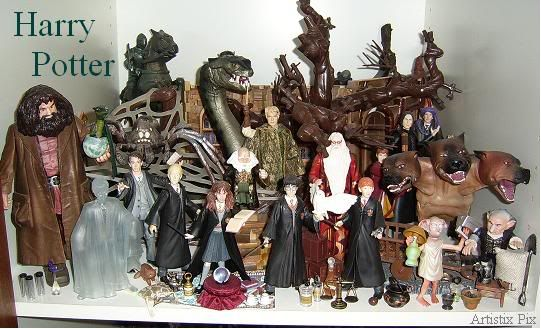 Best Harry Potter Toys And Figures : Harry potter figures ck xmas