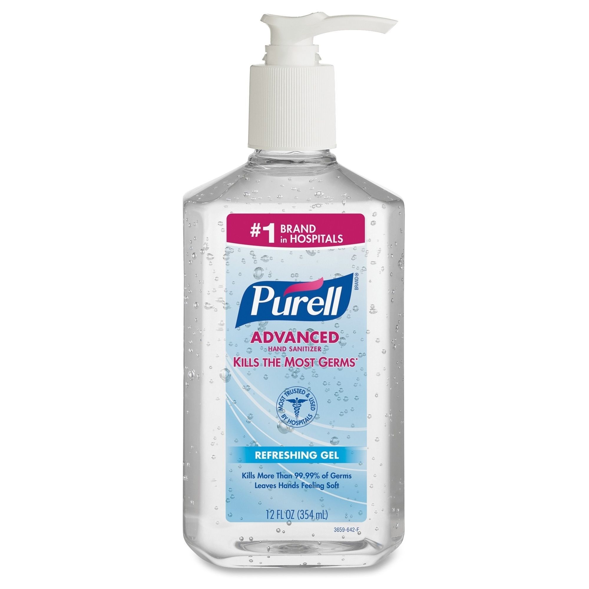 Purell Instant Hand Sanitizer Bottle Clear Hand Sanitizer